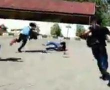 Video Penangkapan Debt Collector di Palu, Pelaku Lari Terbirit-birit