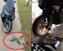 Grup Yamaha NMAX Banjir Komentar, Kejadian Lagi Kecelakaan Gara-gara Dudukan Pelat Nomor