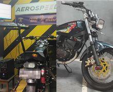 Modifikasi Yamaha RX-King Korek Harian, Andalkan Part Bawaan