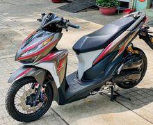 Modifikasi Honda Vario 150 Makin Kece, Fokus Grafis Bodi dan Kaki-Kaki