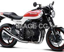Wow, Gambar Render Motor Sport Retro Kawasaki Baru, Pakai Basis Ninja ZX25R!