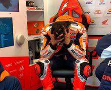 Marc Marquez Kesal Abis, Dua Kali Terjatuh di MotoGP Prancis 2021