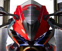 Bocor, Konsep Motor Sport Baru Honda, Pakai Mesin V4 Plus V2 Tech!