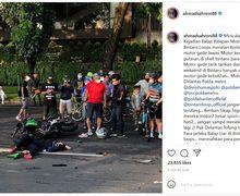 Moge Tabrak Honda BeAT Memakan Korban Jiwa, Ahmad Sahroni Minta Pelaku Dihukum Tegas