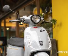 Motor Matic Baru Mirip Vespa, Desain Retro Mesin 125 cc, Lebih Mahal dari NMAX