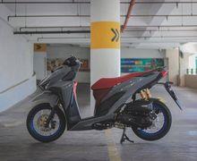 Modifikasi Honda Vario 150, Disiram Warna Elegan Dan Pelek Jari-Jari Menawan