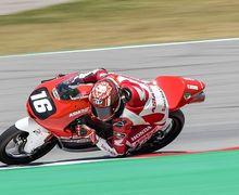 Absen Di Red Bull Rookies Cup Aragon, Pembalap Indonesia Mario Aji Ngegas Di CEV Moto3 Misano