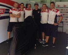 Di Moto2 Malaysia, Dimas Ekky Main Barsama Tim Terakhir Marco Simoncelli