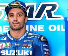 Gara-gara Podium, Nasib Andrea Iannone Bakal Seperti Ini di Tim Suzuki Ecstar