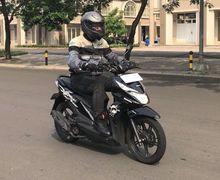 Hobi Riding Pakai Motor Matic, Nih Teknik Mengerem yang Benar