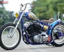 Gendong Mesin Harley-Davidson, Motor Modifikasi Ini Punya Nama yang Bikin Ngakak