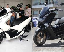 Biaya Kepemilikan MOTOR Plus Award 2019. Adu Irit Yamaha NMAX Vs Honda PCX 150, Mana yang Biaya Bensin Per Harinya Lebih Murah?