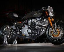 Sangarnya.. Mesin 6 Silinder Honda Dibungkus Rajutan Otot Serat Karbon