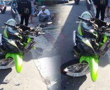 Ngeri, Motor Hilang Kendali Saat Jalan Menurun di Bogor, Bapak dan Anak Meninggal Hantam Truk