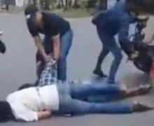 Mencekam,  Video Polisi Tembak Mati Jambret di Tengah Jalan Raya, Warga Ketakutan Lihat Pelaku Diseret