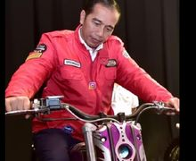Jaket Motor Buatan Lokal Ini Booming Saat Dipakai Presiden Jokowi, Modelnya Keren Banget!