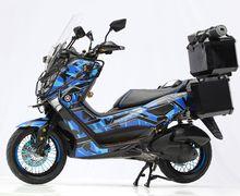 Yamaha NMAX Tampil Beda Pakai Pelek Jari-jari, Teromolnya Bisa Comot Punya Motor Lain