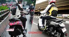 Ini Perbandingan Yamaha Fino Grande dengan Honda Scoopy