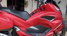 Tinggal Pesan Bodi Langsung Pasang Di Honda PCX, Eh Jadi Gold Wing
