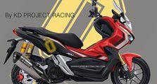 Skutik Adventure Honda ADV150 Modif dari Thailand Bikin Greget
