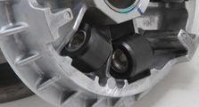 Pakai Roller Adiknya, Dijamin Akselerasi Skutik Adventure Honda ADV150 Makin Jengat