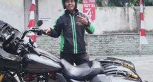 Video Driver Ojol Naik Harley-Davidson, Suspensi Full Ohlins