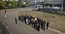 Keren, Komunitas Kawasaki W175 Indonesia Meriahkan HUT RI Ke-74 Dengan Upacara dan Lomba