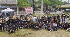 Komunitas Kawasaki W175 Indonesia Meriahkan HUT RI Ke-74 Dengan Upacara dan Lomba, Mantab Bro