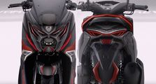Bikin Heboh, Video Skutik Yamaha NMAX Megatron Terbaru, Lampu Depan Keren