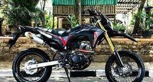Honda CRF150 dan Kawasaki KLX150 Makin Gagah Pakai Knalpot B'Pro, Harga Gak Sampai Rp 1 Juta