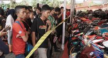 Honda Modif Contest Medan Diserbu Ratusan Pecinta Modifikasi