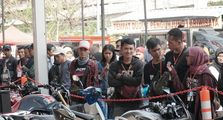 Honda Modif Contest Jakarta Disambut Antusias Pecinta Modifikasi Motor