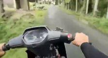 Bikers di Padang Geger, Viral Video Honda Supra Jadi-jadian Kenceng Banget Larinya, Dicek Mesinnya Bikin Minder