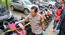 Polresta Tangerang Sita 19 Unit Motor Curian, Para Pelaku Ngaku Cuma Butuh 3 Detik Bawa Kabur Motor Matic