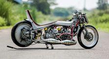 Gendong 2 Mesin! Modifikasi Hedon Ala Drag Bike Kawasaki Ninja R Karya Anak Indonesia