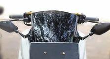 Yamaha NMAX Ganteng Maksimal, Spion Tanduk Nempel di Windshield, Produk KTC Kytaco Kasih Paket Komplit
