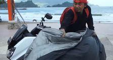 Viral Video Launching Motor Matic Baru Yahonda, Sebelumnya Geger Astrea Grand Kawin Silang Yamaha NMAX