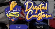 Suka Digital Modifikasi Bro? Yuk Desain Virtual Motor Yamaha Favoritmu