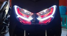 Custom DRL di Headlamp Yamaha All New NMAX, Langsung Jadi Pusat Perhatian