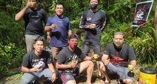Touring Menuju Objek Wisata Pancur Aji, BMC Chapter Sanggau Gelar BBQ Ride