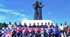 Peringati Hari Pahlawan, Suzuki Motorcycle Club (SMC) Adakan Sunmori dan Baksos ke Tugu Proklamasi Rengasdengklok