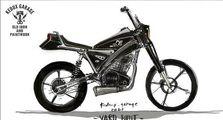 Konsep Modifikasi Yamaha XSR 155 'Black Dog' ala Kedux Garage
