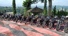 Klub Motor Kawasaki Retro Riders W175 MC Indonesia Rayakan Ultah ke-3