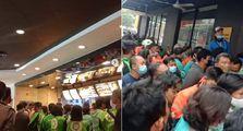 Geger, Ratusan Driver Ojol Berhamburan di McD Gara-gara BTS Meal