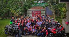Biar Tambah Akrab, Komunitas Motor ARCI Sukabumi Gelar Family Gathering ke-3 di Puncak Bogor