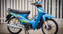 Honda Supra X Lawas Dapat Modifikasi Elegan, Kelir Mencolok Aksesoris Hedon