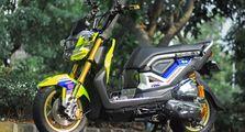 Modifikasi Honda Zoomer X 2014, Bikin Orang Thailand Bingung