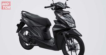 All New Honda BeAT Deluxe Black Matte