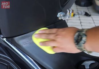 Bodi Plastik Hitam di Motor sudah Pudar? Nih Tips Mengkilaukannya Kembali