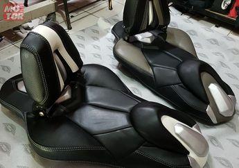 Dongkrak Tampilan Yamaha Aerox Dengan Jok Keren, Semakin Banyak Pilihannya Nih!